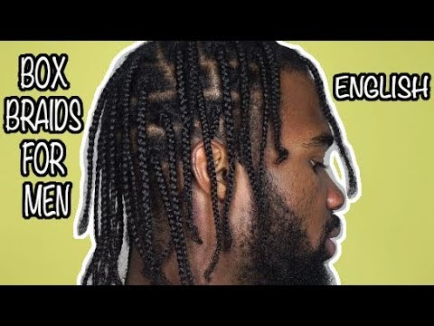 Men Box Braids Protective Hairstyle For Men Promote Hair Growth