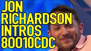 Jon Richardson Intros Part 2 - 8 Out Of 10 Cats Does Countdown