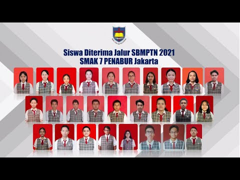 Siswa Siswi SMAK 7 PENABUR Jakarta Diterima Di Jalur SBMPTN 2021