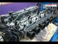 7500rpm Nissan L28 Engine Dyno   350hp