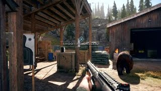 Shoot Ducks At Shooting Range Challenge - Far Cry 5