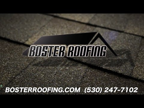Redding Roofing Company | Boster Roofing 530-247-7102