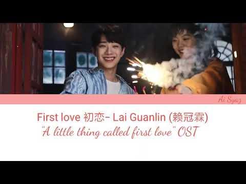 Lai Guanlin - First Love (ENG/Pinyin) A Little Thing Called First Love Ost