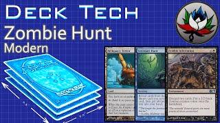 "Funny U/B Zombie Hunt ""Budget"" Modern Deck Tech – MTG!"