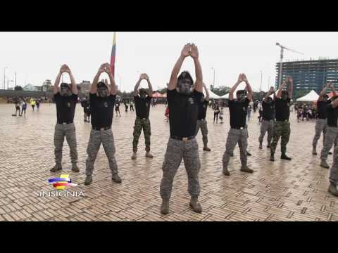 Gimnasia básica militar sin armas