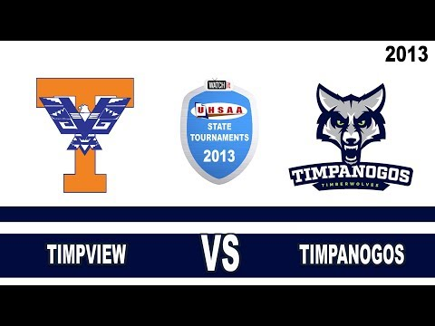 Court#3  Match#7 --- High Timpview vs Timpanogos School 2013 State 4A Volleyball Tournament