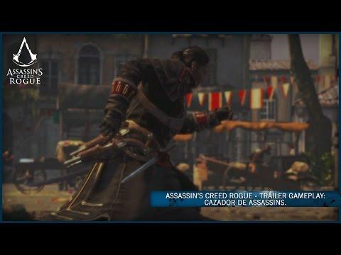 Assassin's Creed Rogue - Tráiler Gameplay: Cazador de Assassins [ES]