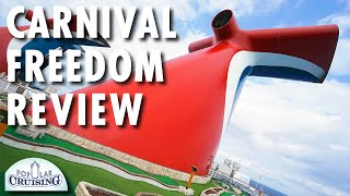 Carnival Freedom Tour & Review ~ Carnival Cruise Line ~ Cruise Ship Tour & Review