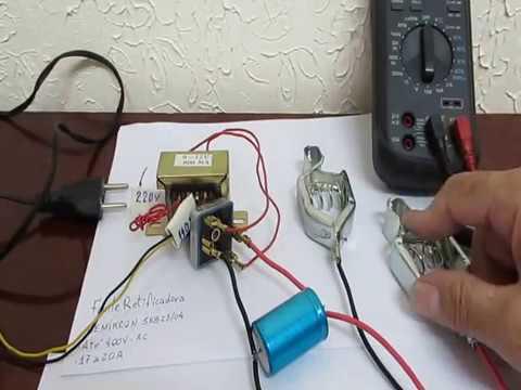 Como fazer um carregador de Bateria de Automóvel Simples e Barato