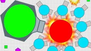 Diep.io New Update I Fully Control The Dominator! Destroy All Strongest Max Level Tank Domination