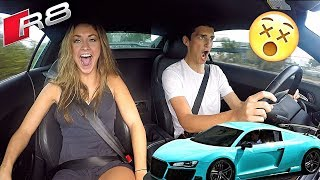 Driving The CRAZIEST Audi R8!! (It