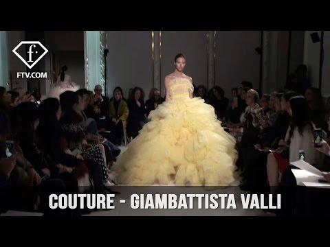 First Look Haute Couture S/S 17 Giambattista Valli   FTV.com