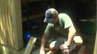 How To Build A Cabin Door Part 1.mpg