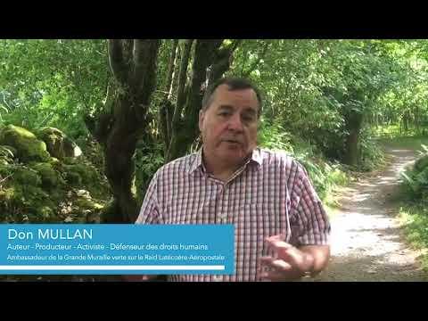 Raid Latécoère-Aéropostale - Soutien de Don Mullan