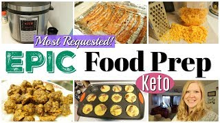 Weekly Food Prep   Easy Keto Prep   Most Requested Recipes