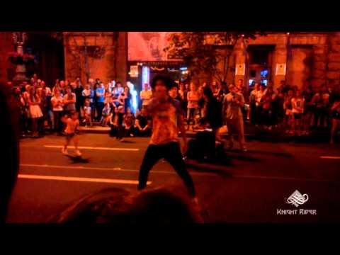 Уличные танцы, Киев, Вечерний Крещатик часть 6 - Street Dance, Kiev, Khreshchatyk Evening part 6