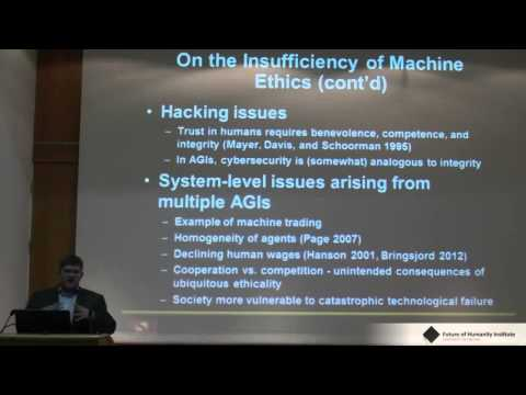 Miles Brundage Limitations and Risks of Machine Ethics  FHI Winter Intelligence