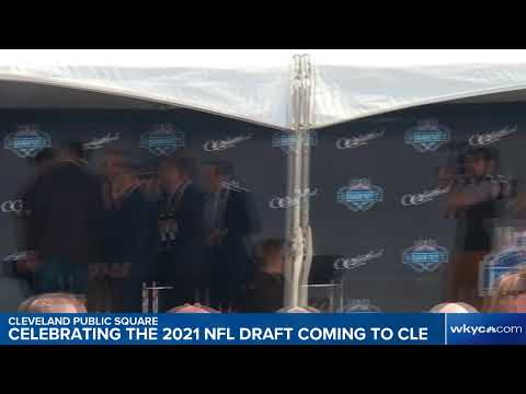WATCH | Browns, fans celebrate 2021 NFL Draft coming to Cleveland