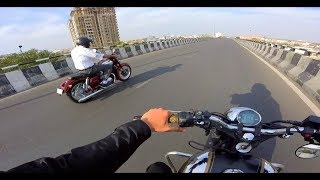 Royal Enfield owners test ride the new Jawa | Forty Two