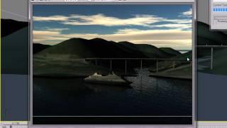 Ландшафт в 3ds max с помощь SketchUp - часть 4. Анимация.