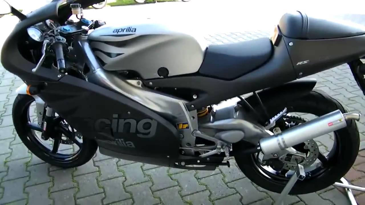 aprilia rs 125 2002 motorrad top gebraucht youtube