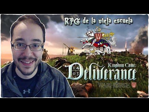KINGDOM COME DELIVERANCE nos trae RPG de la VIEJA ESCUELA