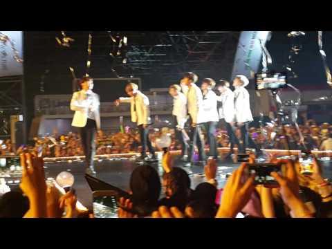 160325 BTS Dope + Encore All Artist on stage @ 2016 KCON Abu Dhabi (FanCam)