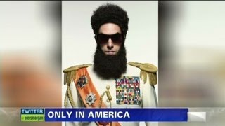 Only in America on Sacha Baron Cohen
