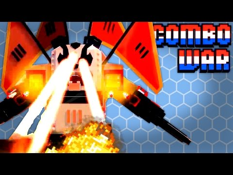FIGHT A GIANT PANDA MECH! - Combo War Gameplay