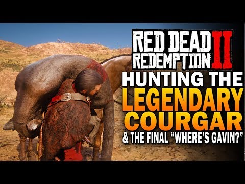 Hunting The Legendary Cougar & Uniting Nigel With Gavin - Red Dead Redemption 2 Hunting [RDR2]