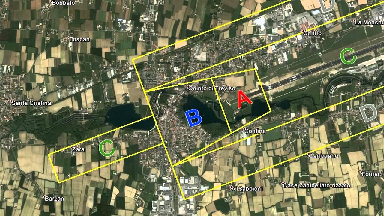 Aeroporto Treviso : Mappa d zone di rischio aeroporto treviso youtube