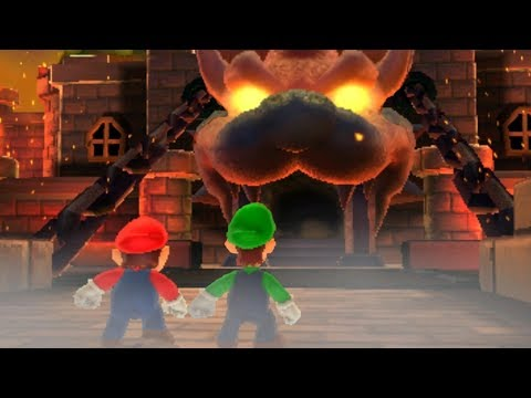 Super Mario 3D Land - All Final Castles & Airships