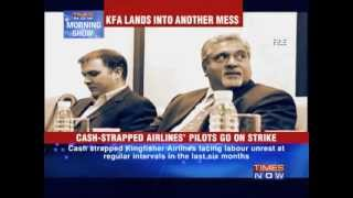 Kingfisher Airlines lands into another mess