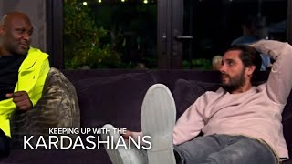 KUWTK | Scott Disick Couldn't Handle Seeing Lamar in Hospital | E!