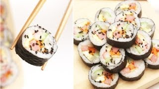 Kimbap / Gimbap :korean Roll Without Raw Fish ; 김밥 - Cocossimplycooking