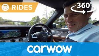 Mercedes E-Class Saloon 2017 360 degree test drive | Passenger Rides