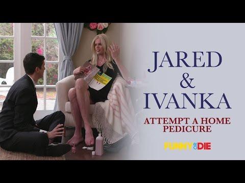 Jared Kushner and Ivanka Trump Attempt A Home Pedicure