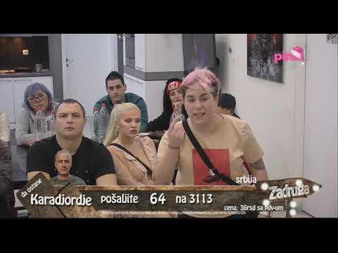 Zadruga 2  - Matora priča šta sve zna o Dragani - 13.01.2019.