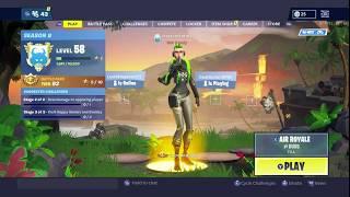 Fortnite Save the world hero glitch on battle royale - Xbox Jess sur tous mes emotes