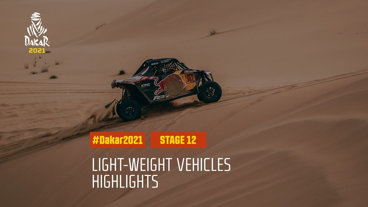 #DAKAR2021 - Stage 12 - Yanbu / Jeddah - Light Weight Vehicle Highlights