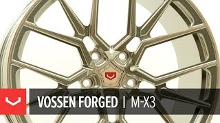 Vossen Forged | M-X3 Wheel | Patina Gold