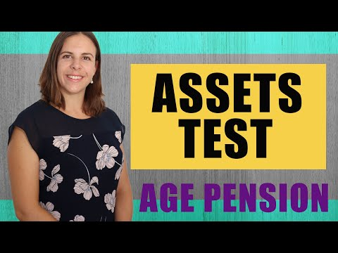 Age Pension Assets Test - EXPLAINED IN PLAIN ENGLISH!