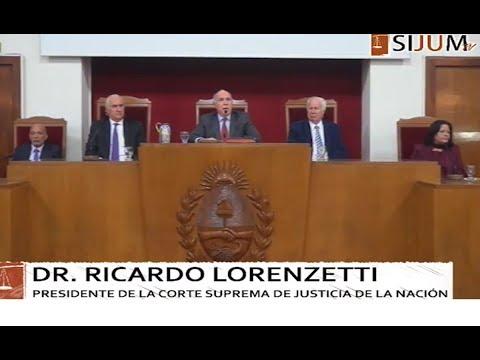 Lorenzetti tomó juramento a nuevos jueces de la Cámara Federal de Mendoza