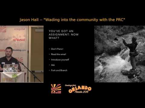 Wading Into the Perl Community with the PRC