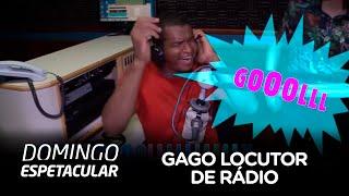 Gago faz sucesso como locutor de rádio em Maceió