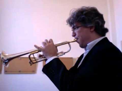 CONCONE - Lyrical Studies for trumpet - N. 4 - Moderato