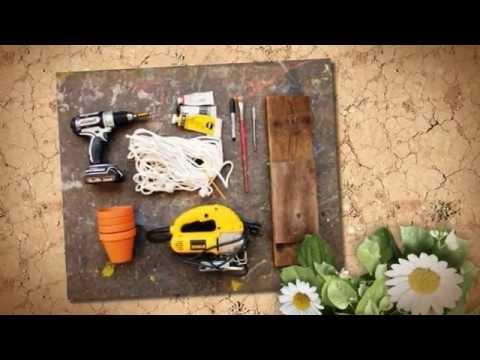 видео: Как сделать полку для цветов. Подвесная полка