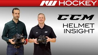 2018 CCM FitLite and Tacks Helmet Line Insight