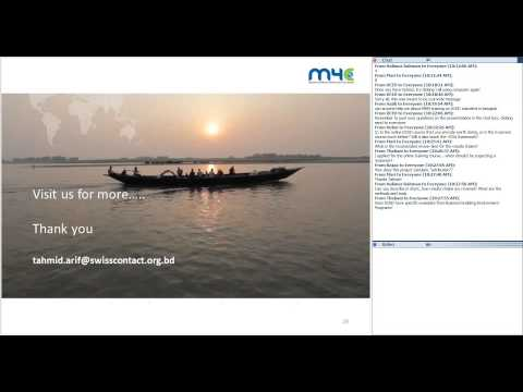 Introduction to the DCED Standard for Results Measurement Webinar with M4C