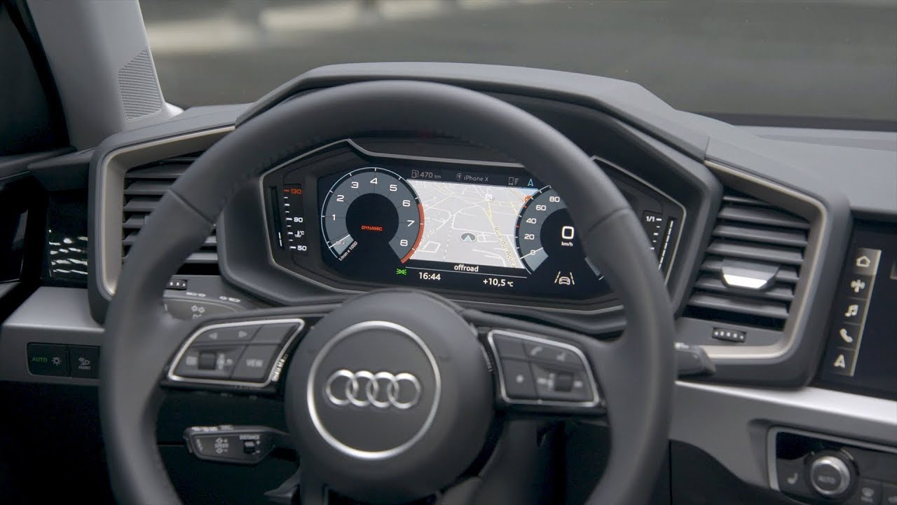 2019 Audi A1 Sportback Interior Youtube